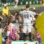 2014/9/2DeNA戦:バースデー和田監督の「熱くナリすぎるな」で今成が逆転タイムリー