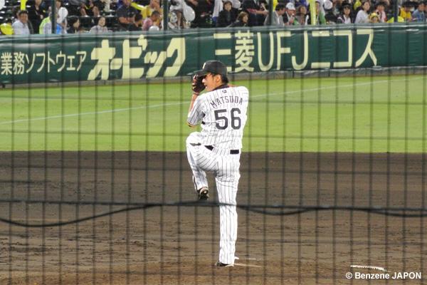 松田が登板