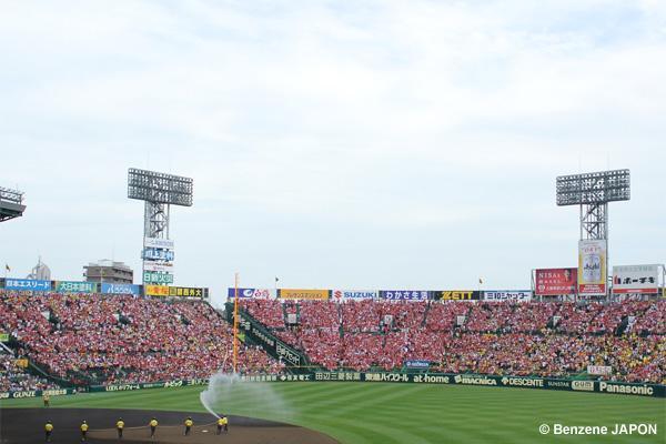 広島ファンがいっぱい