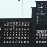2018/8/30ヤクルト戦:才木が好投するも打線の援護なく敗戦