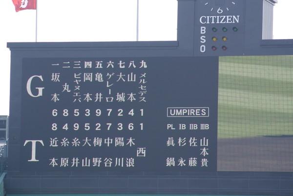 2019/4/21巨人戦:まさかの完封負けで巨人戦開幕6連敗、さらに昨年から9連敗中