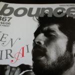 bounceを読んだら。367号その1:KENちゃんヒゲ濃すぎ。