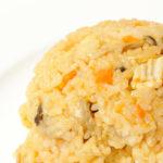 No. 018 チキンライス風炊き込みご飯:炊くときは水少なめに・・・