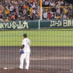 2015/9/10巨人戦:終盤は阪神ペースになるが、1発に泣く
