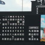 2019/7/5広島戦:岩田が試合をつくり、糸井が勝ち越しタイムリーで試合を決める