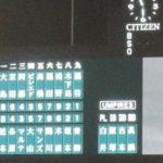 2020/10/27中日戦:青柳投手が好投、そして近本と木浪の同期コンビの活躍で完勝